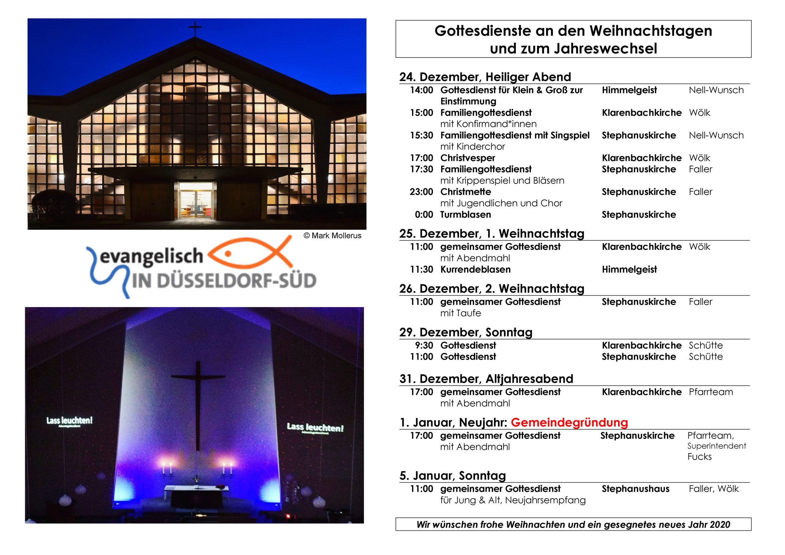 Evangelische Kirchengemeinde Dusseldorf Wersten